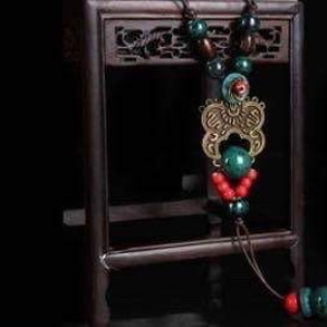 Arty Porcelain Necklace