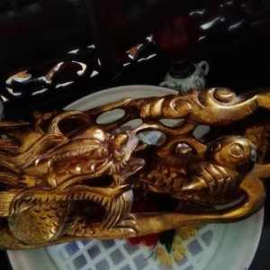 Wooden Dragon (Pairs) - $350 (4)
